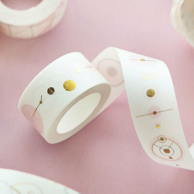 Hot Charms Foil Paper Washi Tape Kawaii Stationery Scrapbooking Decorative Tapes