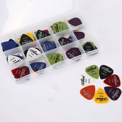 US 100pc Guitar Pick Classical Folk Acoustic Pick Musical Instrument Accessories