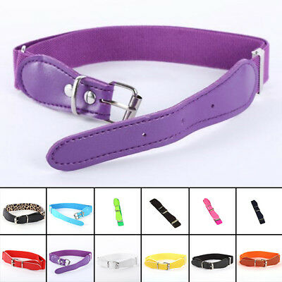 Baby Girls Boys PU Leather Waist Belt Toddler Kids Adjustable Waistband HOT SALE