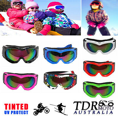 Ski Goggles Snowboard Skating Windproof Anti-Fog UV400 Protection for Kid Child