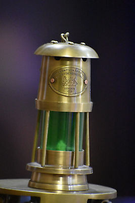 Antique Brass Minor Oil Lamp ~ Nautical Maritime Ship Lantern ~ Boat Light  Lamp