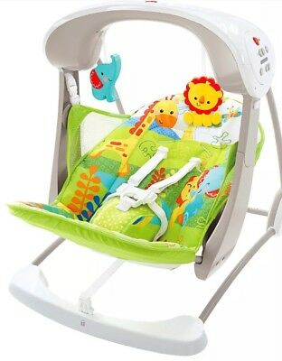 Fisher Price Rainforest Jumperoo And Swing Seat