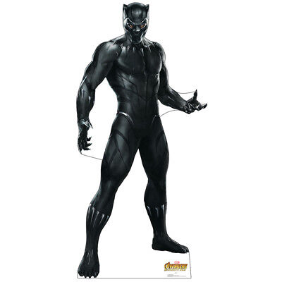 BLACK PANTHER Avengers Infinity War CARDBOARD CUTOUT Standup Standee Poster F/S