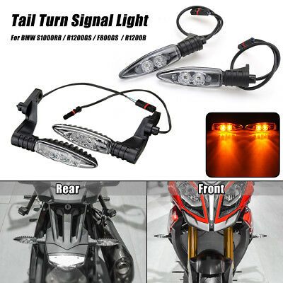 Sets Front Rear Turn Signal Indicator LED Light For BMW S1000RR R1200GS F800GS