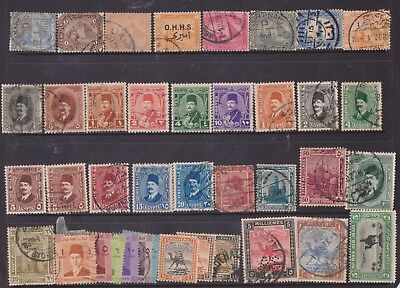 (K78-25) 1867-1930 Egypt 39stamps (Y)