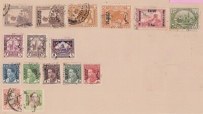 (K78-1) 1918-42 Iraq 16stamps including O/P (A)