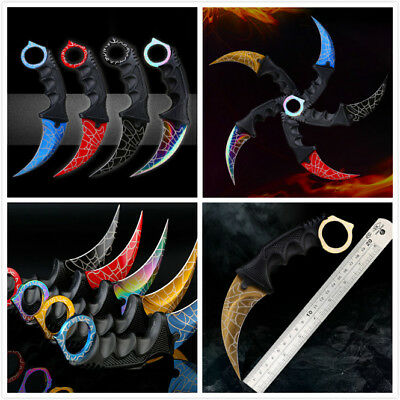 Fixed Blade CS Counter Strike Knife Portable Survival Camping Knives Utility CN