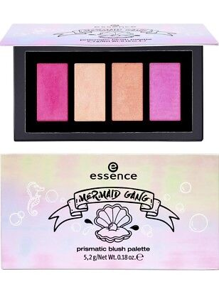 essence online exclusives - Mermaid gang prismatic blush palette NEU&OVP