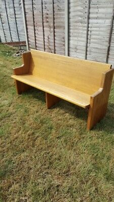 Lovely Church Pews - Vintage or up cycling project
