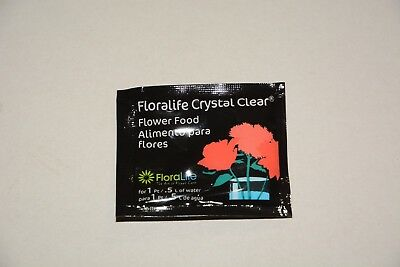 Floralife Universal Flower Food Sachets Clear 5g x 40 sachets - FREE POSTAGE
