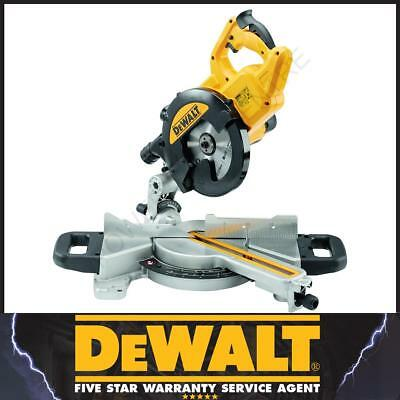 DeWalt Reconditioned DWS774 240v Volt 1400w XPS Crosscut Slide Mitre Chop Saw