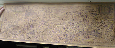 WALL PAPER Map of The Wizarding World of Harry Potter Movie Poster ...