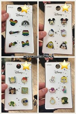 Brand New Primark DISNEY PINS Mickey Pride, Alice, Peter Pan, Mickey & Friends