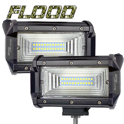 BPS Lighting 120W Flood Sylvania LED Bar Lamp Driving Fog Offroad SUV Car Truck