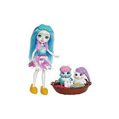 Enchantimals Kids Gift Sleepover Night Owl Dolls