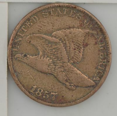 1857 Flying Eagle One Cent *Z83