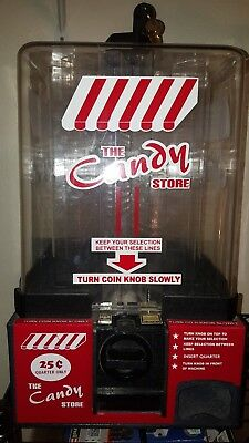 The Candy Store Tabletop Vending machine Vintage