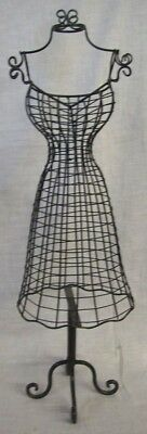 """Store Display Fixtures NEW BODY FORM JEWELRY DISPLAY 20"""" tall Black Finish"""