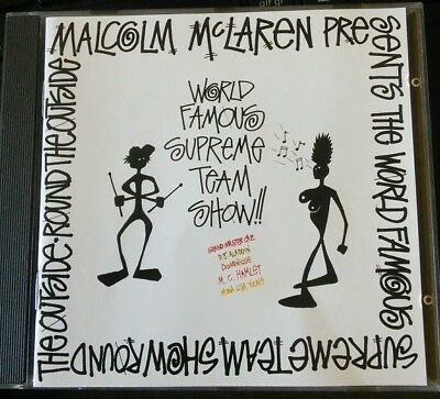 Malcolm McLaren presents world famous Supreme Team show CD Round the Outside