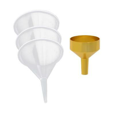 Mini Plastic Metal Funnel - Filling Small Bottles Fragrance Perfume Craft