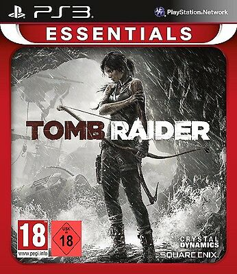 PS3 Game Lara Croft Tomb Raider 2013 Uncut New