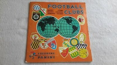 Rare Album Panini  Football Clubs 1975 Complet A 100%  Be