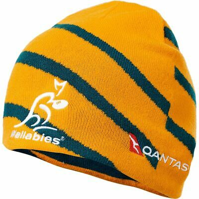 NEW Wallabies 2018 Match Day Revesible Beanie by Asics