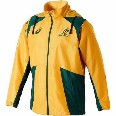 NEW Wallabies 2018 Men's Match Day Jacket by Asics