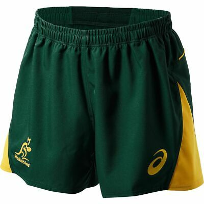 NEW Wallabies 2018 Men's Rugby Shorts by Asics
