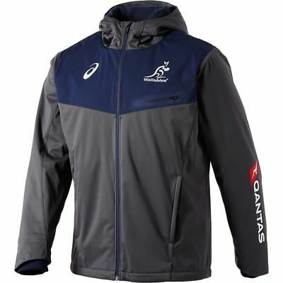 NEW Wallabies 2018 Men's Sideliner Jacket by Asics