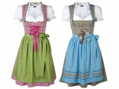 Ladies Dirndls 3 Share Blouse Set Oktoberfest Traditional Costume Dress Costly