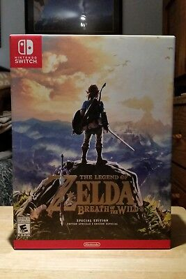 Legend of Zelda: Breath of the Wild - Special Edition (Nintendo Switch) Unopened