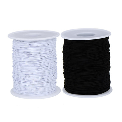 DIY Beading String Elastic Thread Cord 1mm  Lead Free Nickel