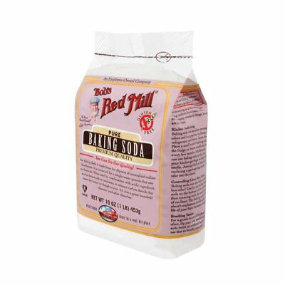 Bobs Red Mill - Pure Baking Soda Premium Quality - 450g Case of 4