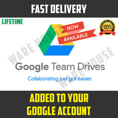 Google Drive Unlimited added to your Google Account LIFETIME - PROMOTION