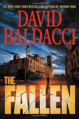 The Fallen (Memory Man series) by David Baldacci Hardcover