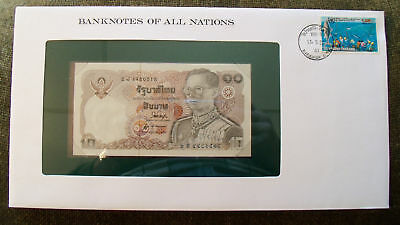 Banknotes of All Nations Thailand 1980 10 Baht P87a.2 UNC sign 53*