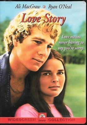 Love Story (DVD, 1970, Widescreen) Ryan O'Neal, Ali Macgraw