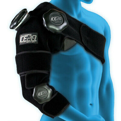 Ice20 Ice Therapy Shoulder Arm Elbow Cold Compression Wrap Pain Relief/Strap/Bag