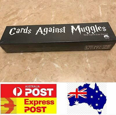 Cards Against Muggles, Excellent Party Board Game, Melbourne Stock, Express Post