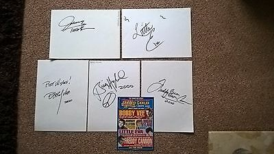Solid Gold Show -Vee -Tillotson -Hyland -Little Eva -Cannon  Signed