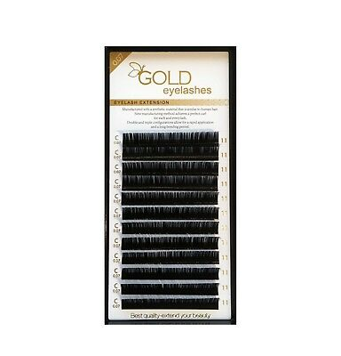 FOR profesionals EDITION Volume 12-14D Individual black Mink Eyelash Extensions