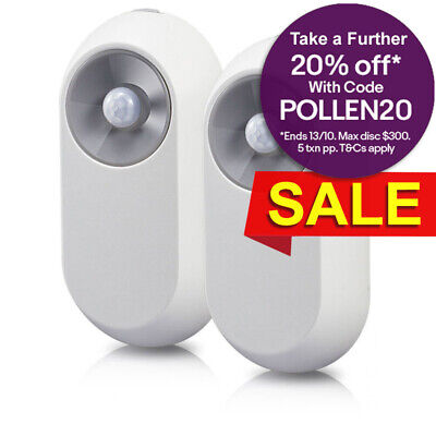 Swann One 2 pack Smart Home Motion Sensor for WiFi Hub Alarm Security System