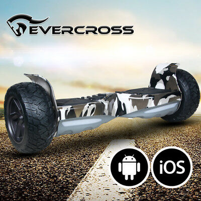 Hoverboard 8.5'' Bluetooth&App Elettrico Scooter Smart Balance Overboard Led