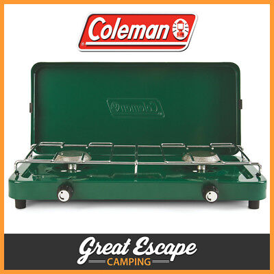 Coleman Compact 2 Burner Stove Cooker. Lightweight ideal for camping 1451707