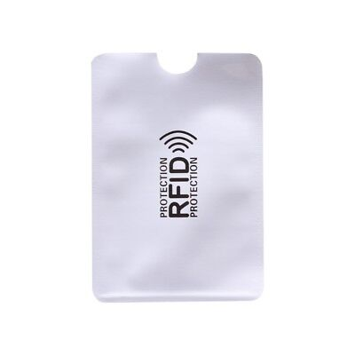 Business Credit Card Holder RFID Blocking Sleeve Protector Shield Case Holder