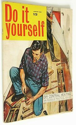 Vintage do it yourself magazine january 1965 399 picclick uk vintage do it yourself magazine january 1965 solutioingenieria Gallery