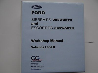 ford sierra rs cosworth and escort cosworth workshop manual 69 50 rh picclick co uk Ford Focus RS Cosworth Ford Focus RS Cosworth