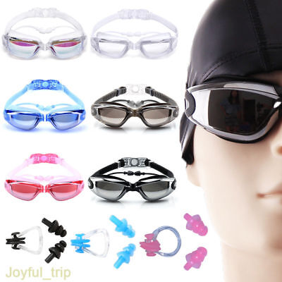 Anti Fog Swimming Goggles for Men Women Boys Girls Adult Junior Kids UK