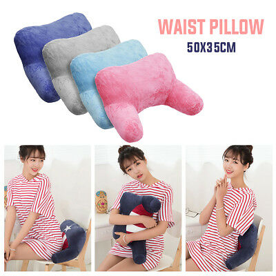 Plush Cushion Bed Rest Lounger Neck Back Support Arm Backrest Relax Pillow Pad